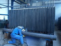 Welding of superheater
